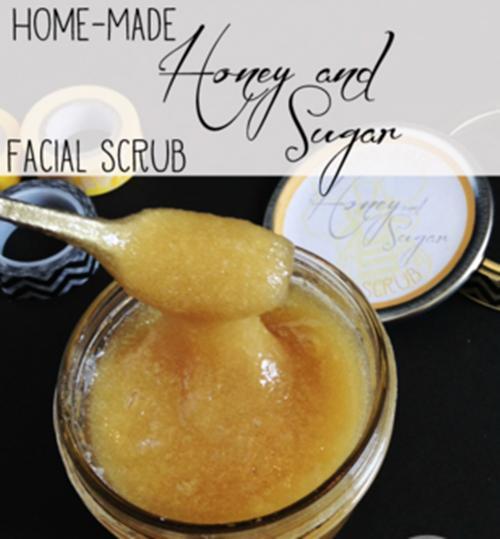 Exfoliation, honey, sugar, home facial