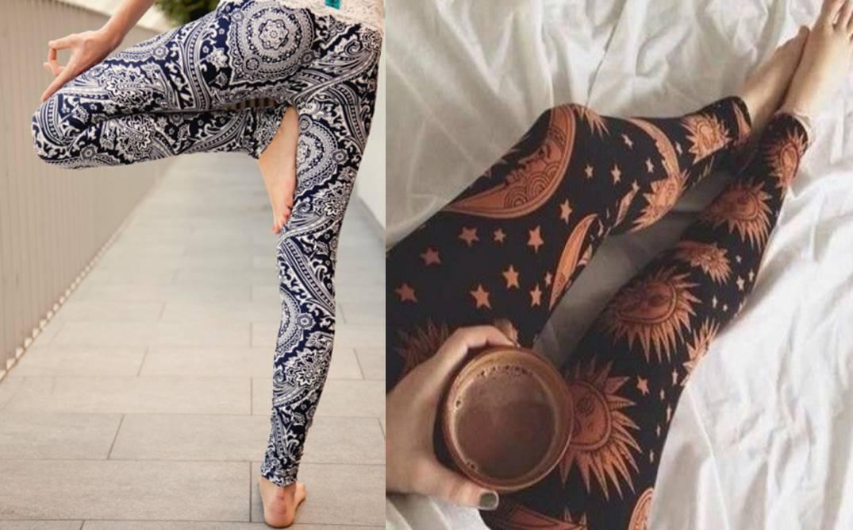 boho print, legwear, fashion, trendy
