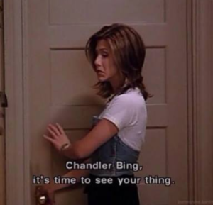 Rachel Green from friends