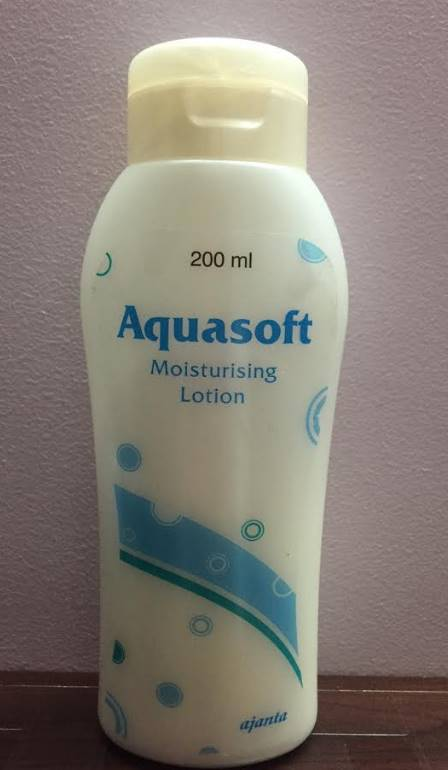 Aquasoft moisturizing lotion review
