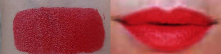 Lakme 9to5 Lipstick Red Coat review