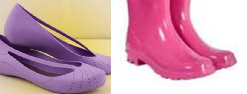Footwear for rainy season