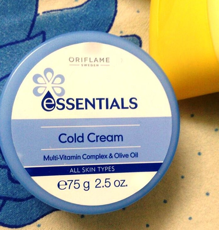 Oriflame ESSENTIALS Cold Cream Review