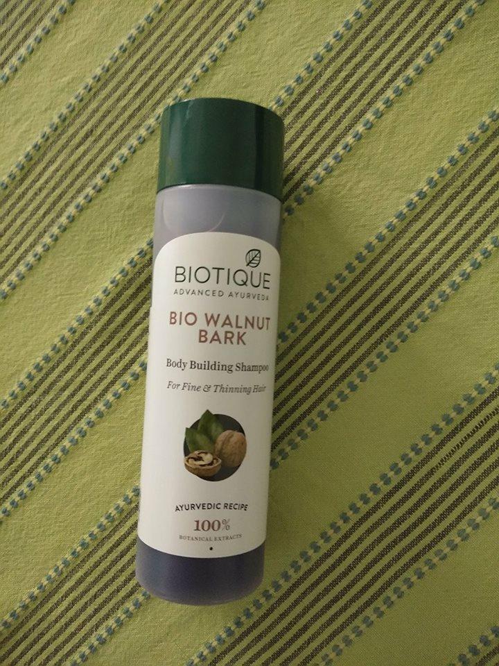 Biotique Walnut Bark Shampoo Review