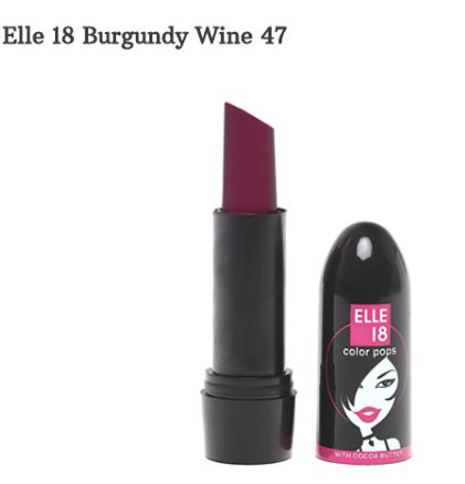 Elle 18 Color Pop Lipsticks