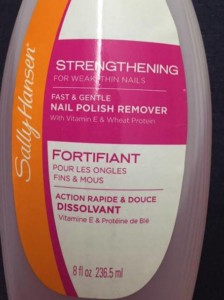 Sally Hansen Nail Polish Remover Review