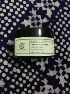 khadi natural chocolate & honey body butter review